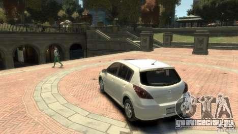 Nissan Versa SL для GTA 4 вид справа