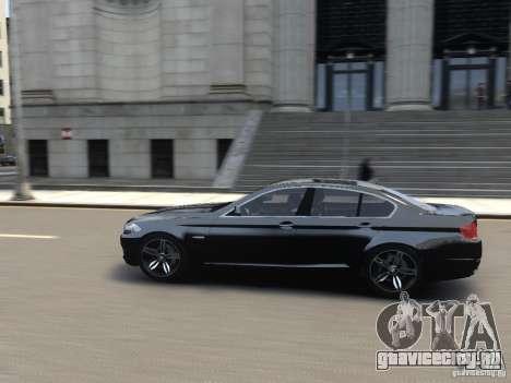 BMW 550i F10 для GTA 4 вид слева