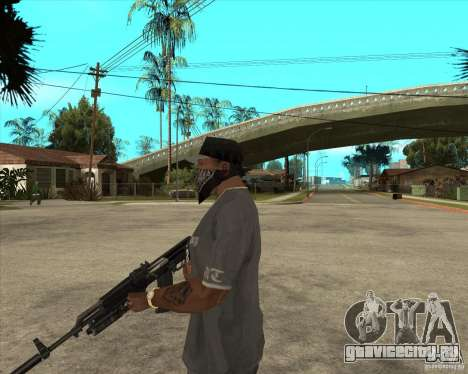 АКС-74М с ГП-25 для GTA San Andreas второй скриншот