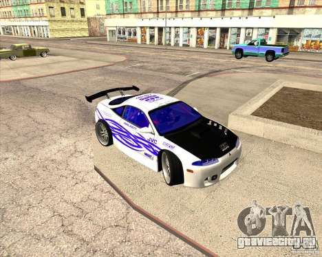 Mitsubishi Eclipse street tuning для GTA San Andreas вид сверху