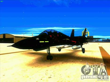 F-14 Tomcat Razgriz для GTA San Andreas