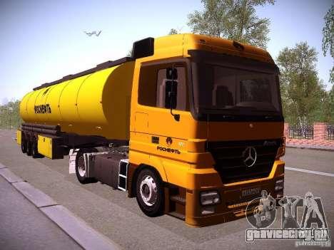 Mercedes-Benz Actros РосНефть для GTA San Andreas