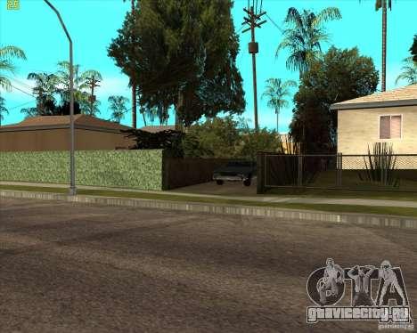 Car in Grove Street для GTA San Andreas четвёртый скриншот