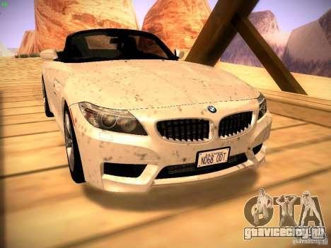 BMW Z4 sDrive28i 2012 для GTA San Andreas вид справа