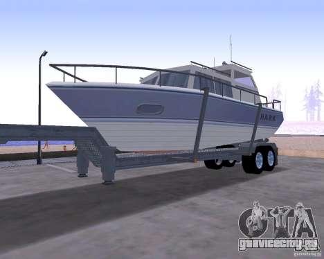 Boat Trailer для GTA San Andreas
