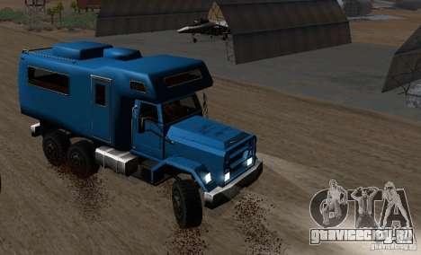 Journey 6x6 Enterable V1 для GTA San Andreas вид слева