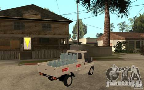 Ford Transit Pickup 2008 для GTA San Andreas вид справа