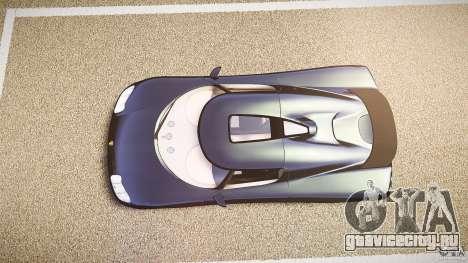 Koenigsegg CC8S 2002 для GTA 4 вид справа