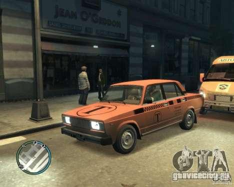 ВАЗ 2105 Такси для GTA 4