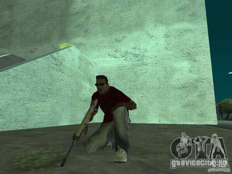 FN Scar-L HD для GTA San Andreas шестой скриншот
