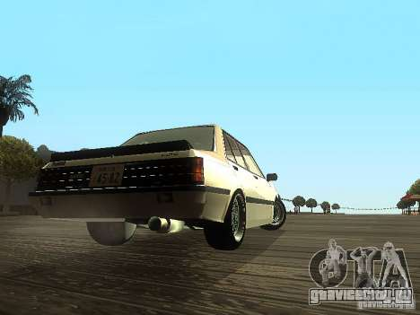 Mitsubishi Lancer EX Turbo 1983 для GTA San Andreas вид справа