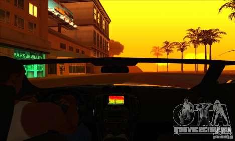 Nissan 370z Drift Edition для GTA San Andreas вид сбоку