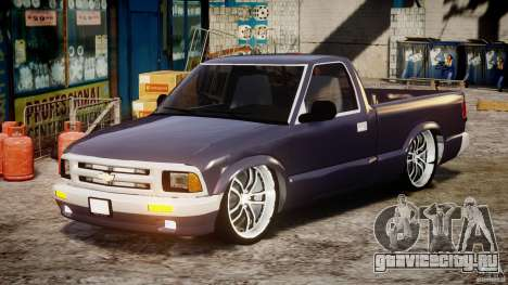 Chevrolet S10 1996 Draggin [Beta] для GTA 4