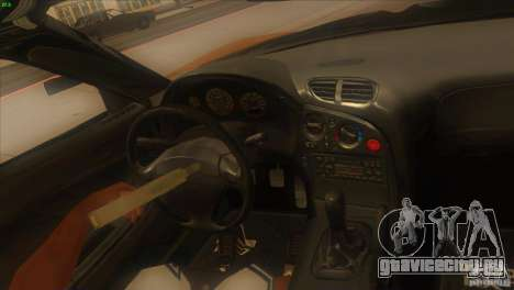 Mazda RX7 Veilside для GTA San Andreas вид сбоку