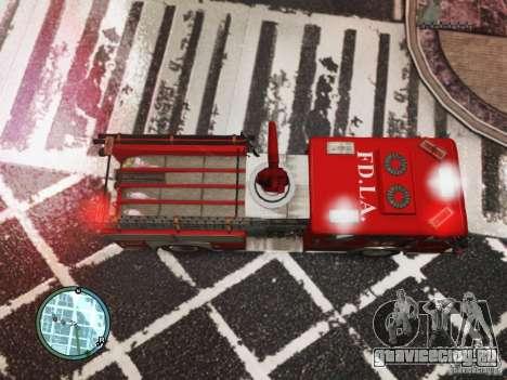 New LCFD Car для GTA 4 вид сзади