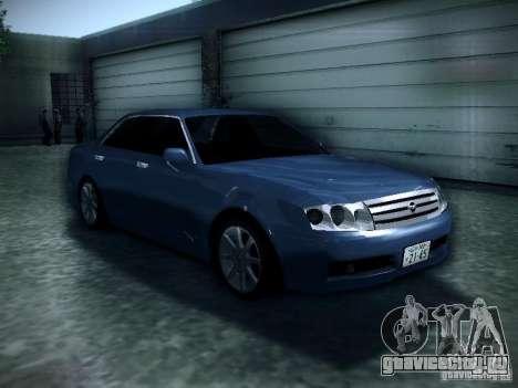 Nissan Gloria для GTA San Andreas вид сзади
