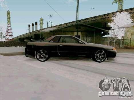 Nissan Skyline GTS-T для GTA San Andreas вид сзади