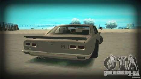 Nissan Skyline 2000GT-R JDM Style для GTA San Andreas вид изнутри