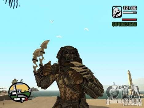 Predator Хищник (в маске) для GTA San Andreas второй скриншот