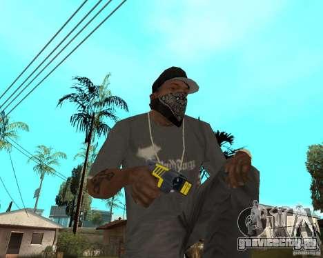 Taser для GTA San Andreas