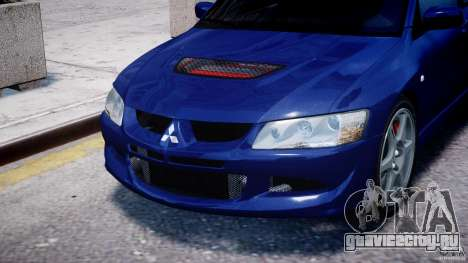 Mitsubishi Lancer Evolution VIII для GTA 4 вид сбоку