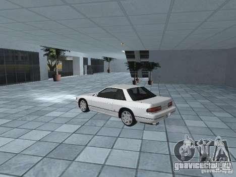 Nissan Silvia PS13 для GTA San Andreas вид сзади слева
