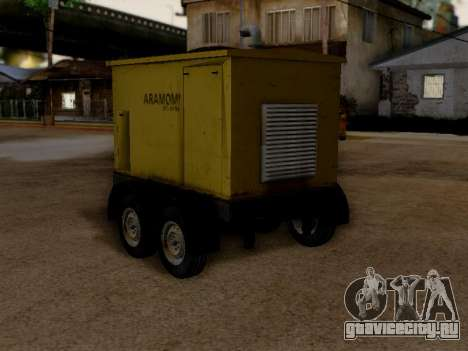 Trailer Generator для GTA San Andreas вид слева