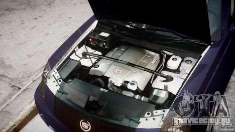 Cadillac CTS для GTA 4 вид сзади