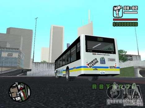 Onibus для GTA San Andreas вид сзади