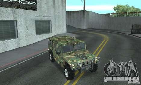 Hummer H1 для GTA San Andreas двигатель