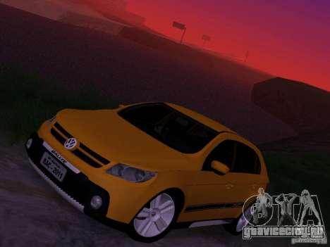 Volkswagen Gol Rallye 2012 для GTA San Andreas вид сверху