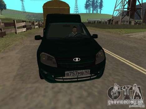 ВАЗ 2190 Каблук для GTA San Andreas вид слева