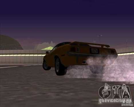 Plymouth Barracuda для GTA San Andreas вид сбоку