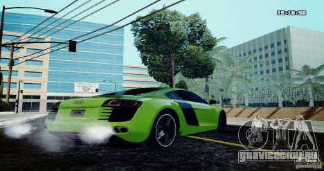 Audi R8 Light Tuned Version для GTA San Andreas вид слева