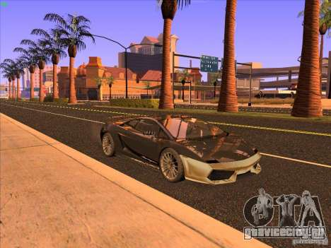 Lamborghini Gallardo Underground Racing для GTA San Andreas вид слева