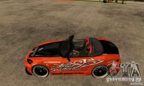 Honda S2000 CHARGESPEED для GTA San Andreas вид слева
