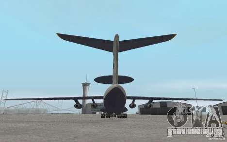 Berijew A-50 Mainstay для GTA San Andreas вид справа
