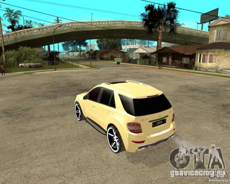 Mercedes-Benz ML 63 AMG для GTA San Andreas
