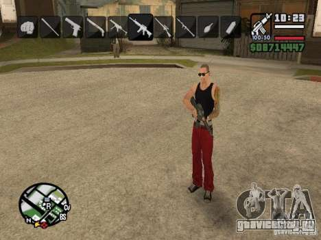 Иконки при смене оружия для GTA San Andreas седьмой скриншот