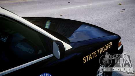 Ford Crown Victoria Fl Highway Patrol Units ELS для GTA 4 двигатель