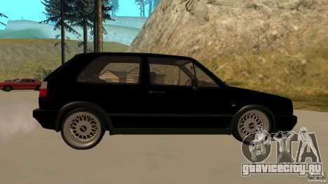 Volkswagen Golf Mk2 для GTA San Andreas вид слева