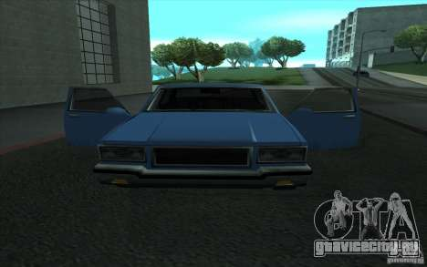 Civilian Police Car LV для GTA San Andreas вид сзади слева