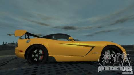 Dodge Viper SRT-10 ACR 2009 для GTA 4 вид слева
