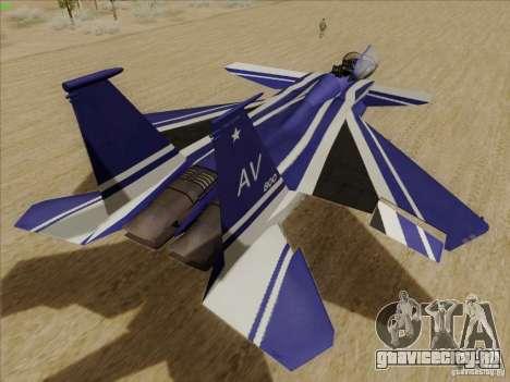 F-15 SMTD для GTA San Andreas вид справа