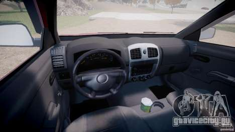 Chevrolet Colorado 2005 для GTA 4 вид сзади