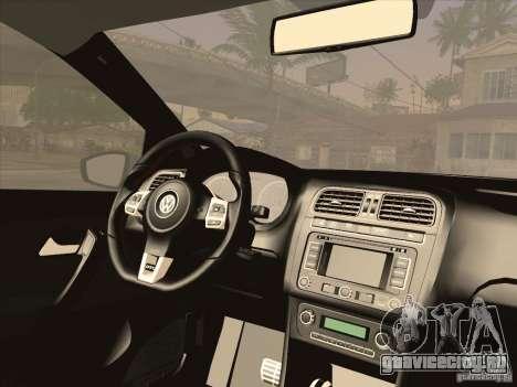 Volkswagen Polo GTI 2011 для GTA San Andreas вид справа
