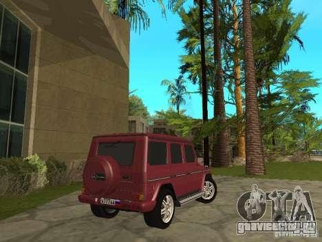 Mercedes-Benz G500 1999 Депутат для GTA San Andreas вид слева