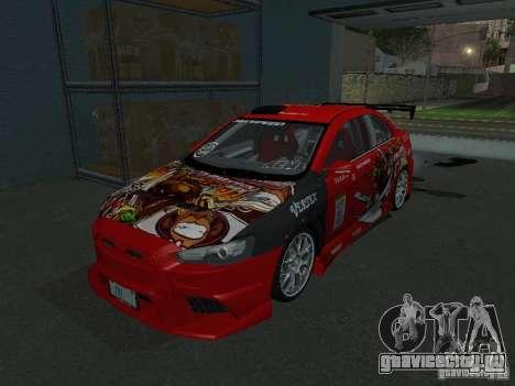 Mitsubishi Evolution X Stock-Tunable для GTA San Andreas