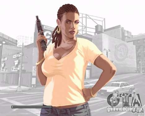 Загрузочные экраны в стиле GTA IV для GTA San Andreas седьмой скриншот