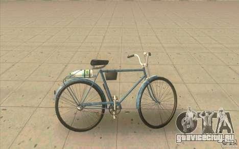 Велосипед Урал - Грязная версия для GTA San Andreas вид слева